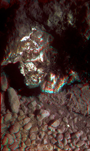 Opportunity sol 3541 PanCam anaglyph