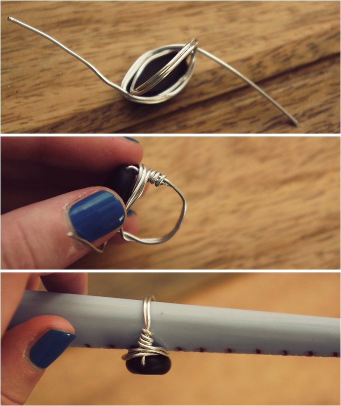diy wire ring 5
