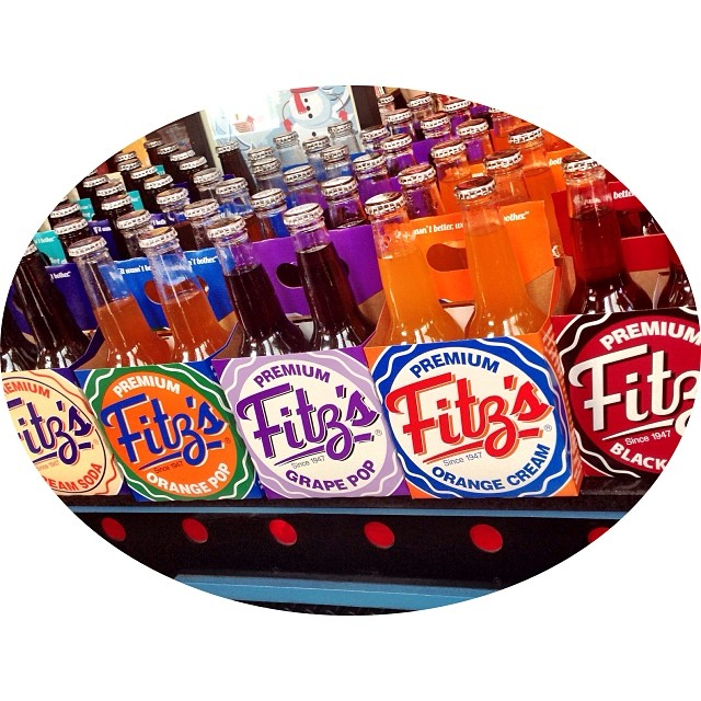 Day 12. Colorful. Fritz's bottle works carries a delightful and tasteful palette of bottled sodas. (Cream soda is my flavor of choice.) #fmsphotoaday