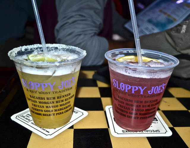 Key West, Florida- Sloppy Joe's - drinks up