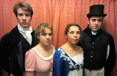 Calum Martin, Grace Knight, Florence Bedell-Brill and James Stewart. Photo © Frances Hetherington.