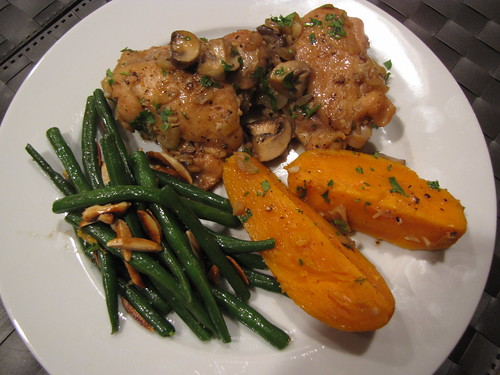 Braised Chicken with Yams