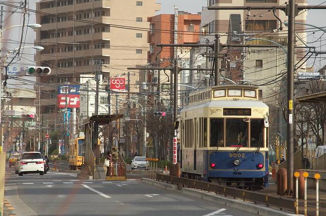 Tokyo Train Story 都電荒川線 2014年1月26日