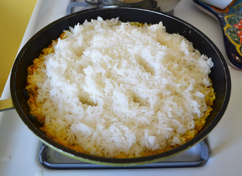 Tah-Dig (Persian Rice) via LittleFerraroKitchen.com
