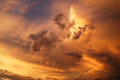 sunset cloudscape asshot