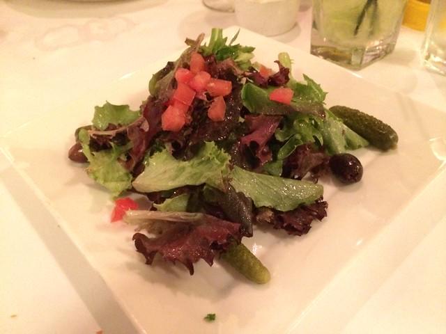 Mesclun salad - Cafe Bastille