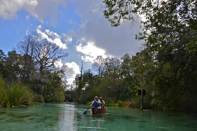 Paddling Adventures on the Weeki Wachee Springs, Florida