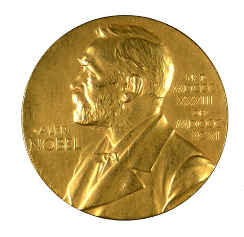 Nobel Prize medal inscribed to F. G. Banting