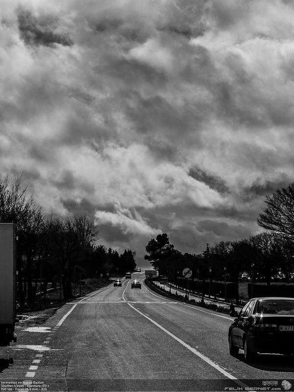 tormentas en Nuevo Baztan