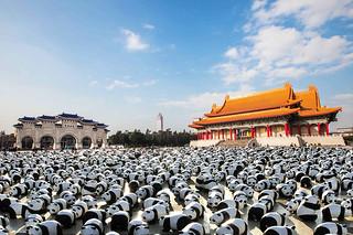 「1600貓熊世界之旅-台北」兩廳院示意圖
