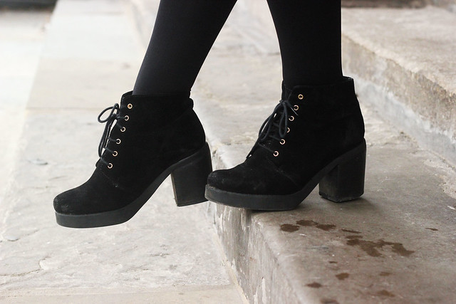 Topshop Lace Up Boots
