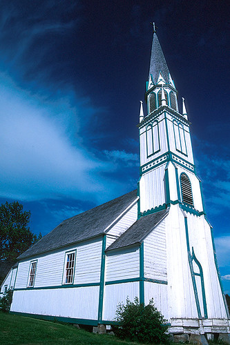 Our Lady of Good Hope Church, Fort St. James, Stuart Lake, Northern British Columbia, Canada