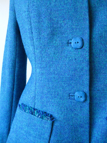 close up buttons pocket