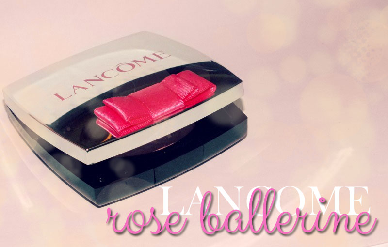 Lancome Highligter Blush- Rose Ballerine (2)