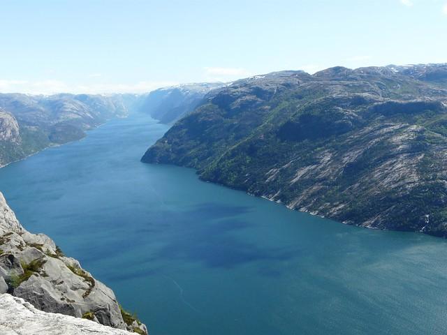 Lysefjorden (Stanvanger, Noruega)