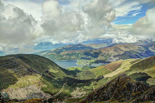 mountain landscape scotland glencoe munro