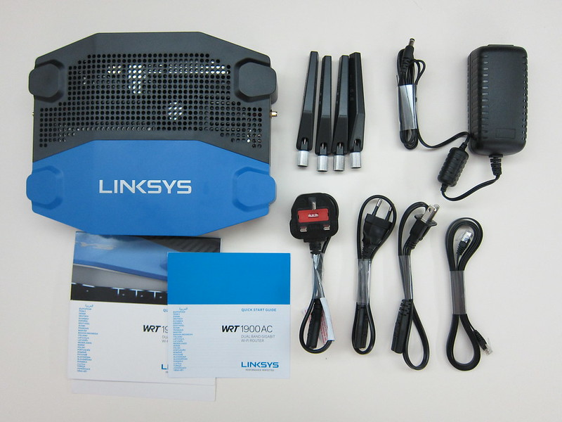 Linksys WRT1900AC - Box Contents
