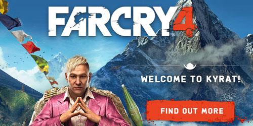 Far Cry 4 trailer shows The Arena mode