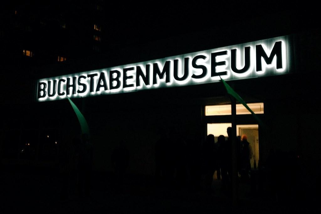 Visiting the Buchstaben Museum