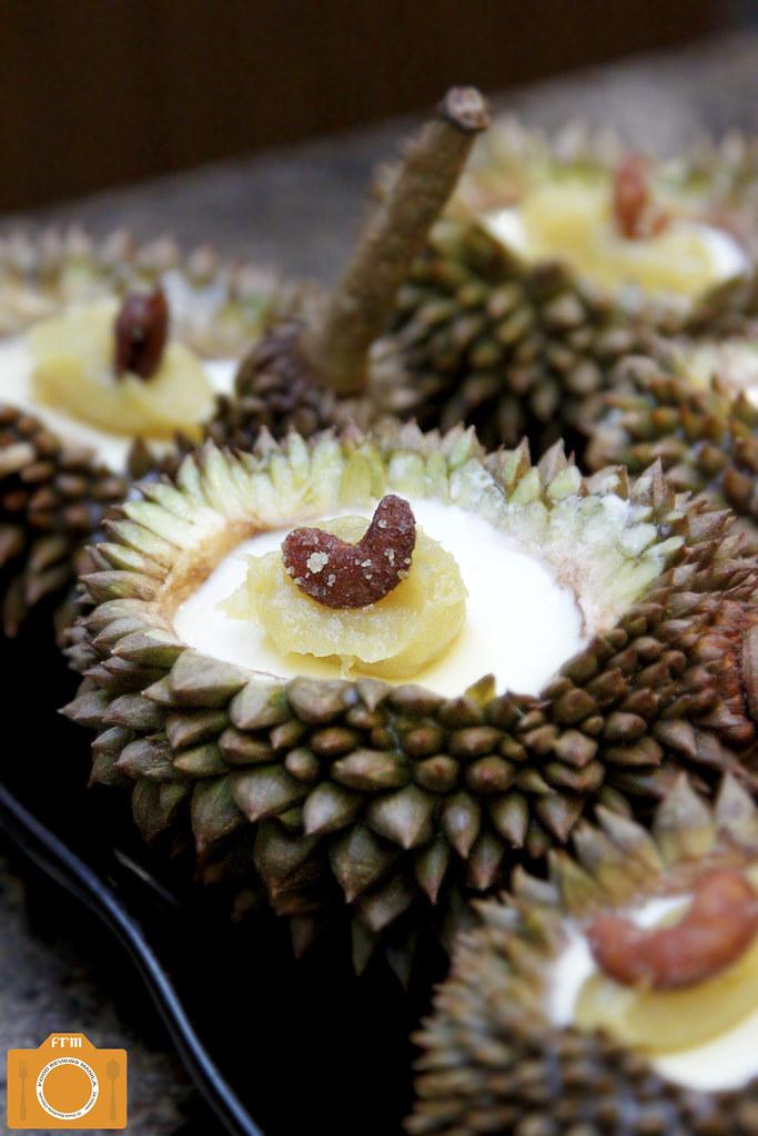 Luzviminda Durian Panna Cotta