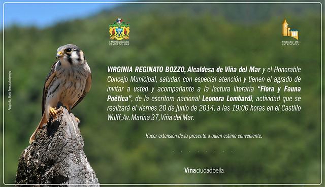 Invitacion Flora y Fauna Poetica