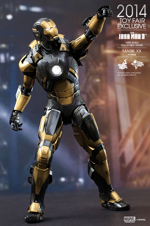 Hot Toys - Iron Man 3 - Python (Mark XX) Collectible Figure_PR04