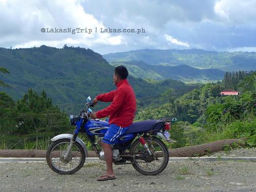 The scenic view along the road before we reached Lorega Quarantine. DDD Habitat Inc. at Lorega, Kitaotao, Bukidnon