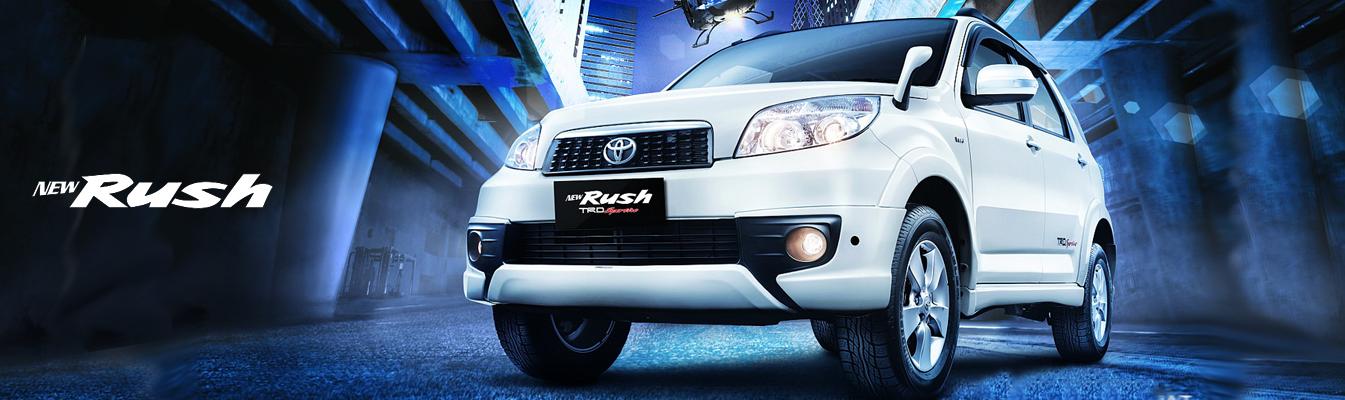 Mobil Toyota New Rush di Jakarta