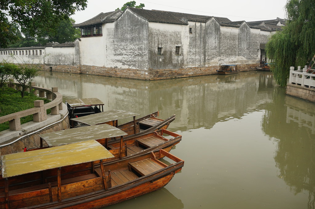 Wooden boats, Suzhou