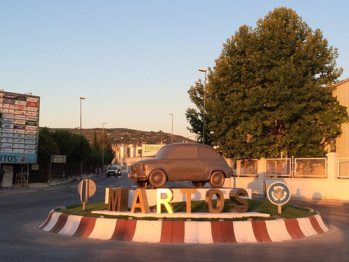 Nueva rotonda en Martos.