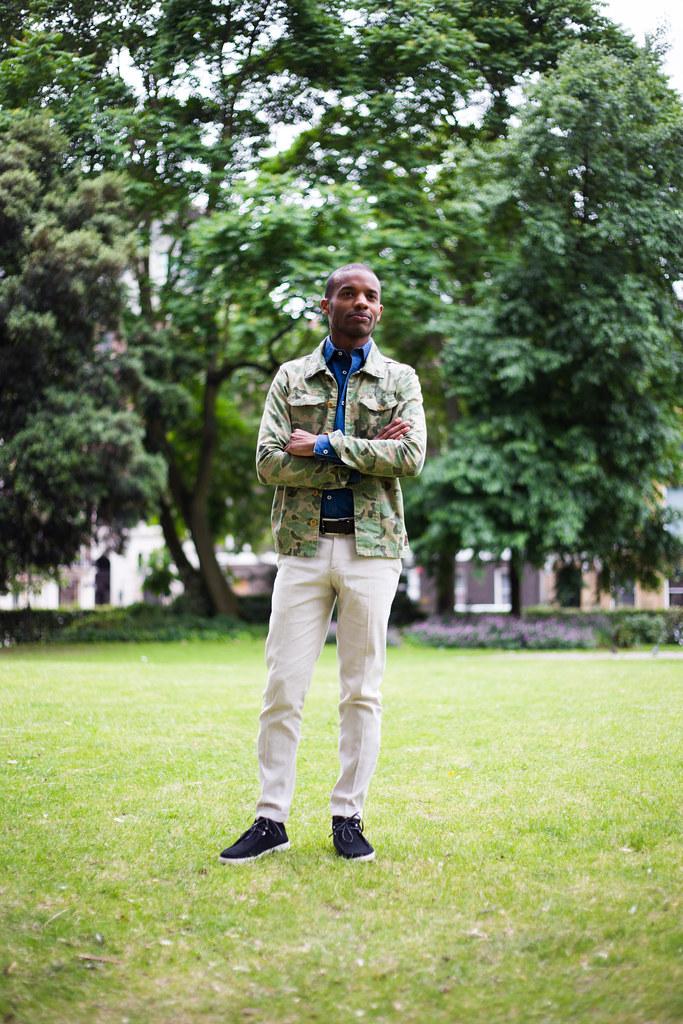 Street Style - Evan, London Collections: Men