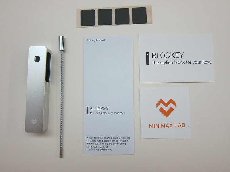 Blockey - Box Contents