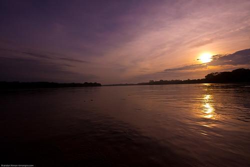 sunset sky reflection peru water clouds sunrise river amazon nikon rainforest d610 amazonrainforest
