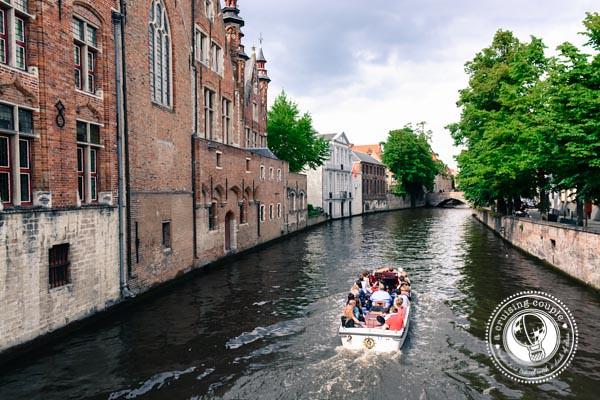 Canal Cruise Bruges Belgium