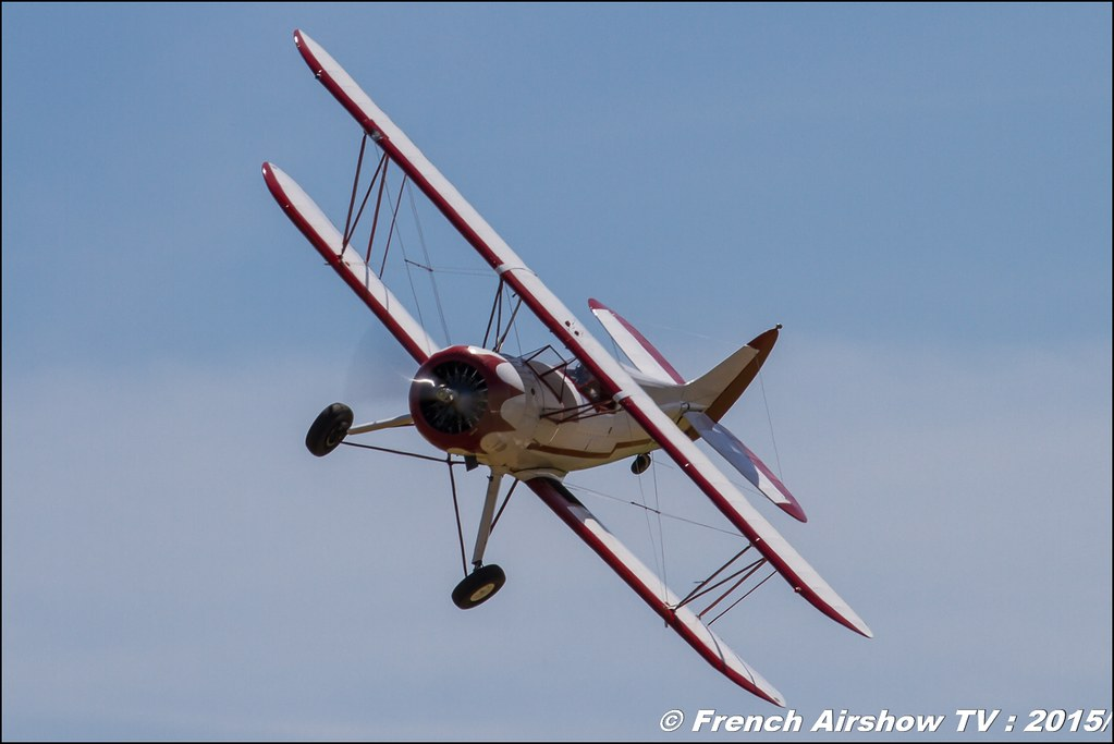 Waco UPF ,7 F-AZJC,Fly'in Saint-Yan,Fly in LFBK , Meeting Aerien 2015