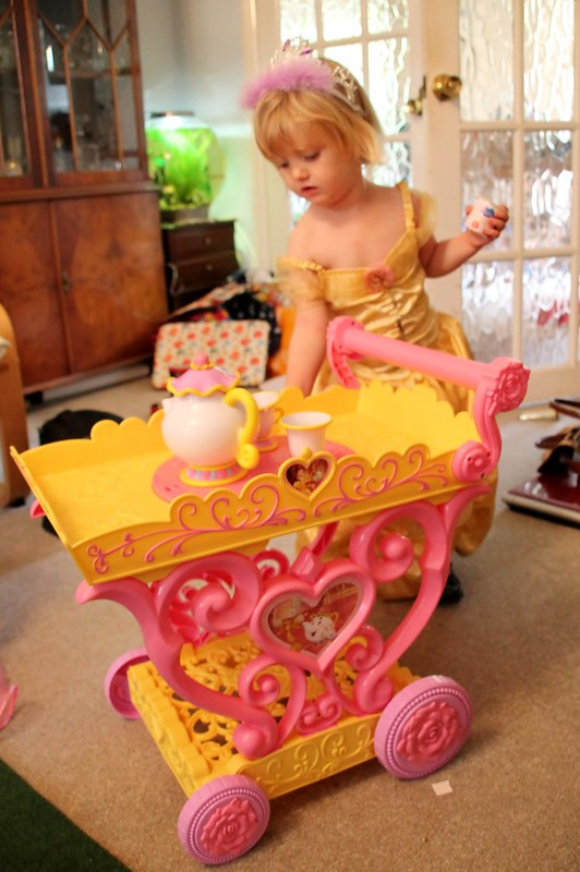 princcess belle tea trolley 12