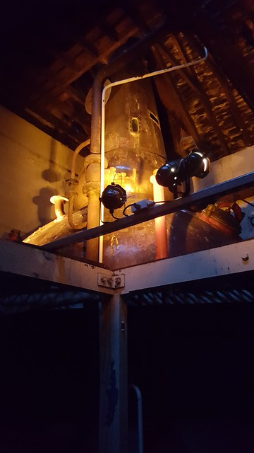 Clynelish Distillery - Brora Distillery Copper Still