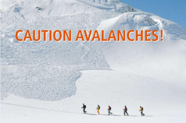 """Nové vydání """"Achtung Lawinen!"""" / """"Avalanches Caution!"""""""