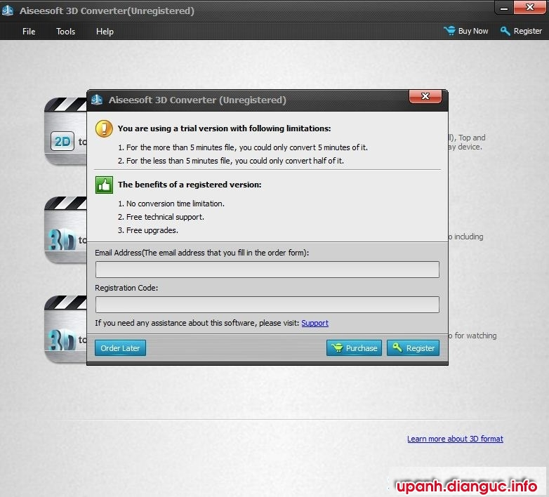 phần mềm Chuyển đổi video 2D sang 3D