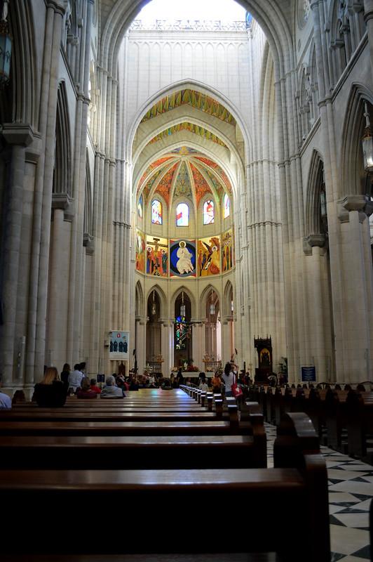 Almudena Cathedral Madrid