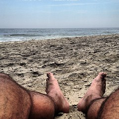 Point of view #beach #jerseyshore #selfportrait