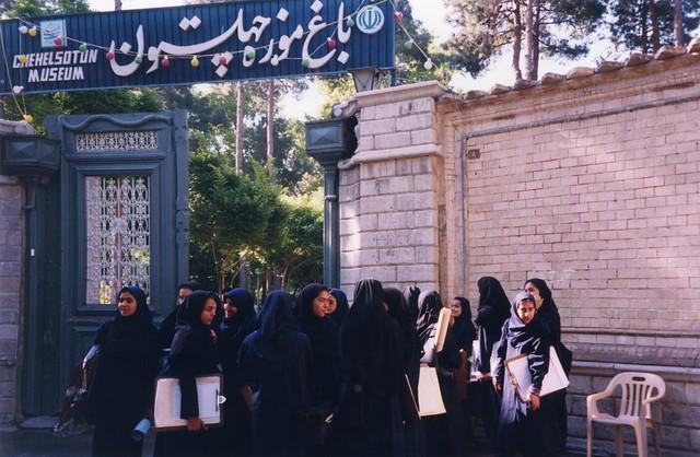 less girl school iran