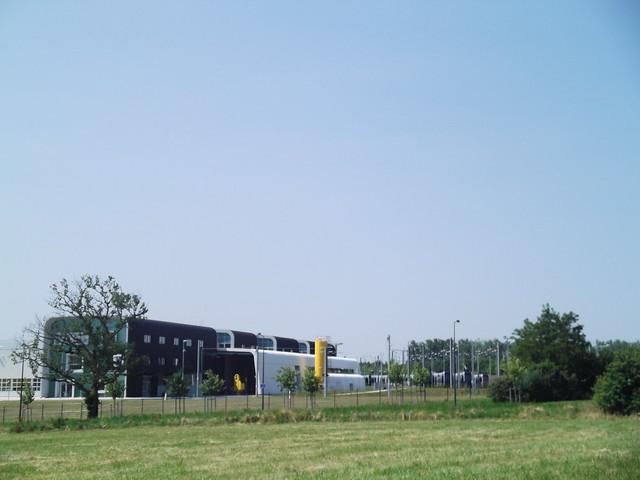 Gare terminus nord du tramway de Tours