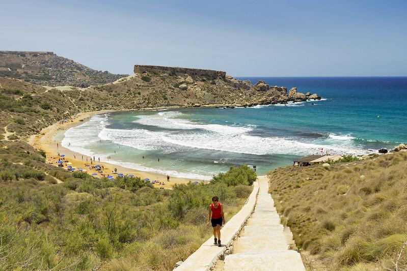 Ghajn Tuffieha Bay #1 - Malta
