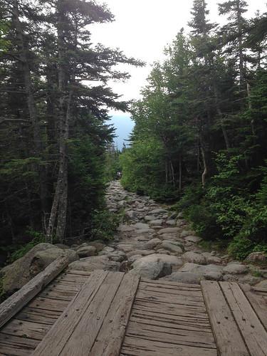 Tuckerman's Ravine trail