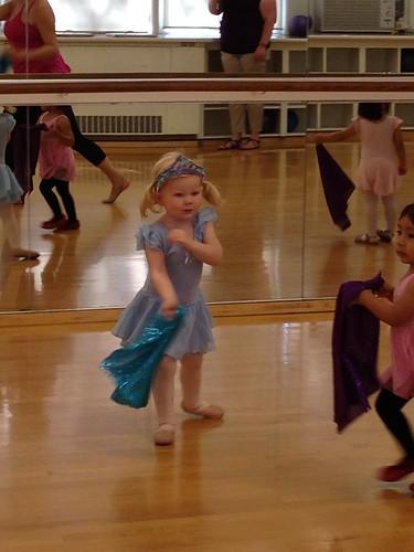 Ballet in Blue