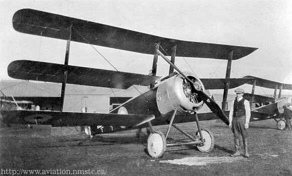 5. A Sopwith Triplane