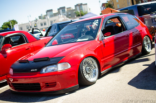 Civic on SSRs by sabrinauh