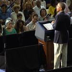 Barack Obama: President Barack Obama speaking at the University at Buffalo