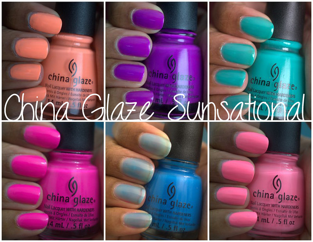 China Glaze Sunsational collection, part I